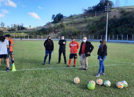 Projeto Bola no Pé retorna com as atividades