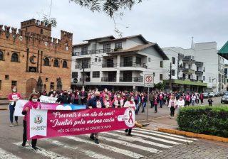 """Outubro Rosa """"Caminhada pela Vida"""""""