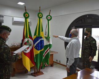Bianchet é empossado presidente da Junta de Serviço Militar