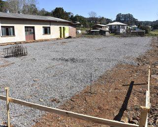 Nova quadra esportiva na Comunidade São Pedro