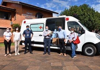 BRF realizou doação de ambulância UTI móvel para o Município de Serafina Corrêa