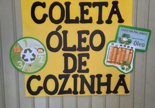 Campanha Coleta de Óleo Saturado resulta em investimentos nas Escolas