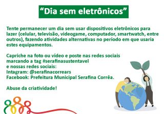 PARTICIPE DO MÊS DO DESAFIO AMBIENTAL